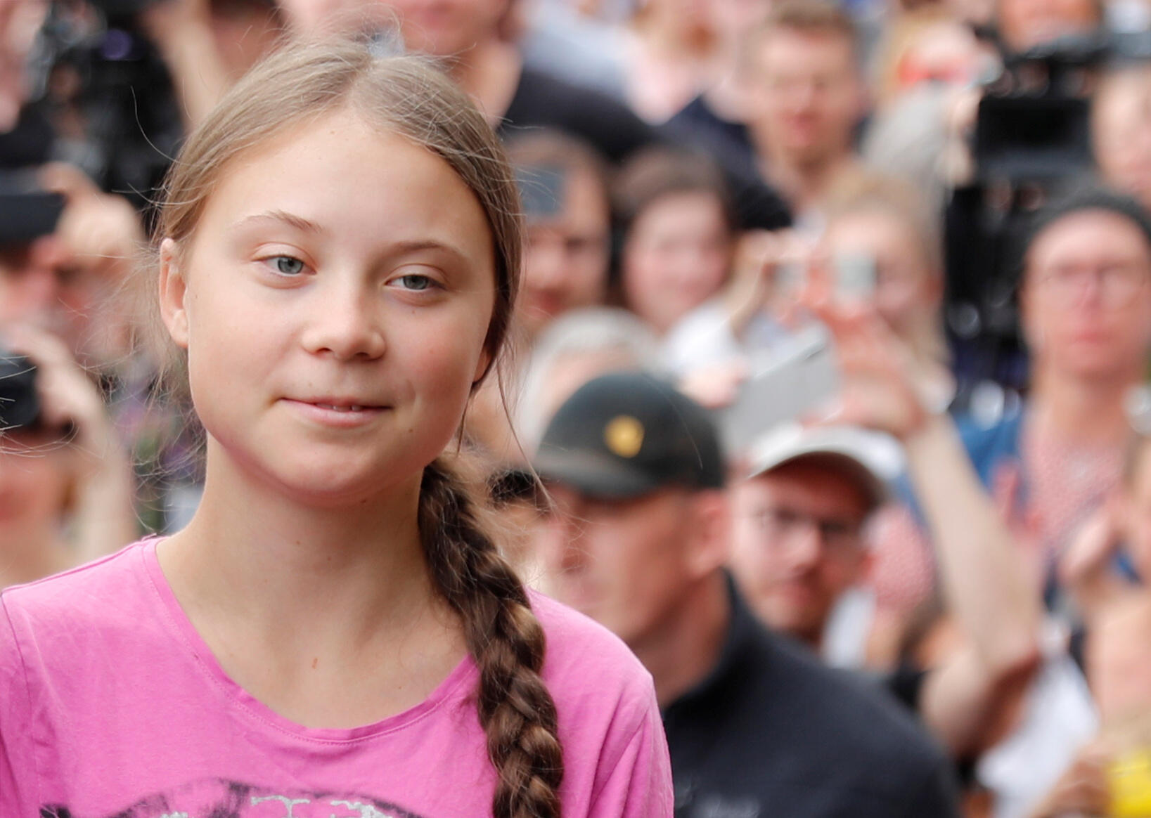 L'activiste suédoise Greta Thunberg