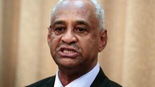 Faisal Mohamed Saleh, ministre de la Communication du Soudan, le 8 septembre 2019.