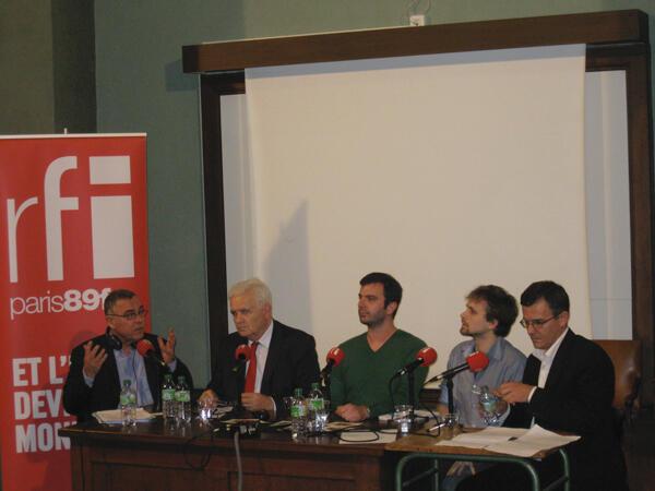 Daniel Desesquelle, Mirko Galic, Stefan Vojvodic, Jean-Baptiste Kastel et Dominique Thierry.