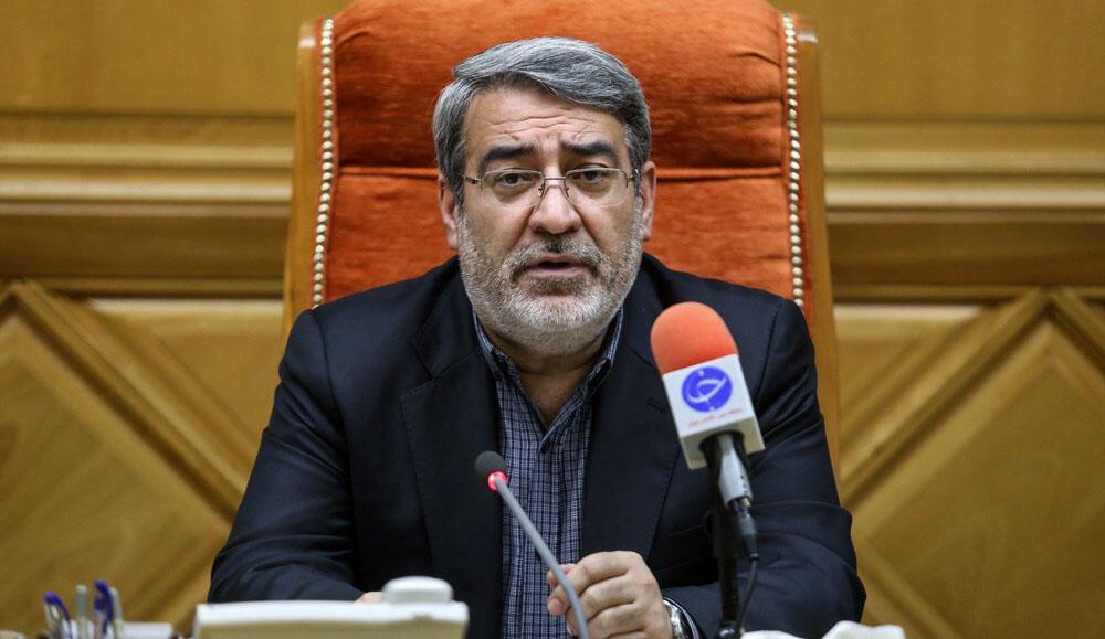 عبدالرضا رحمانی فضلی، وزیر کشور جمهوری اسلامی ایران