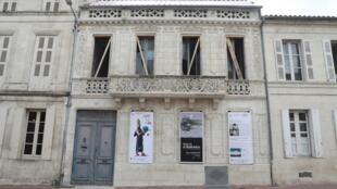 La maison de l'écrivain Pierre Loti à Rochefort.