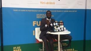L'ivoirien Daniel Oulaï, créateur de l'application Yiri-drôtô.