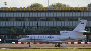 L'avion transportant Ratko Mladic s'est posé à La Haye le 31 mai 2011 direction le TPIY.