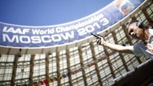 Moscou, la capitale russe, sera pour la première fois le théâtre des Mondiaux d'Athlétisme.