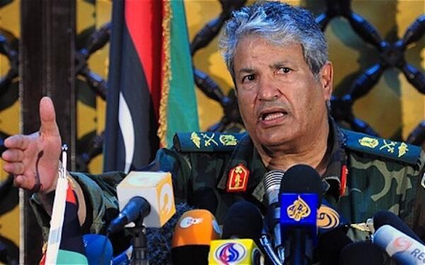 El General Abdel Fatah Yunes.