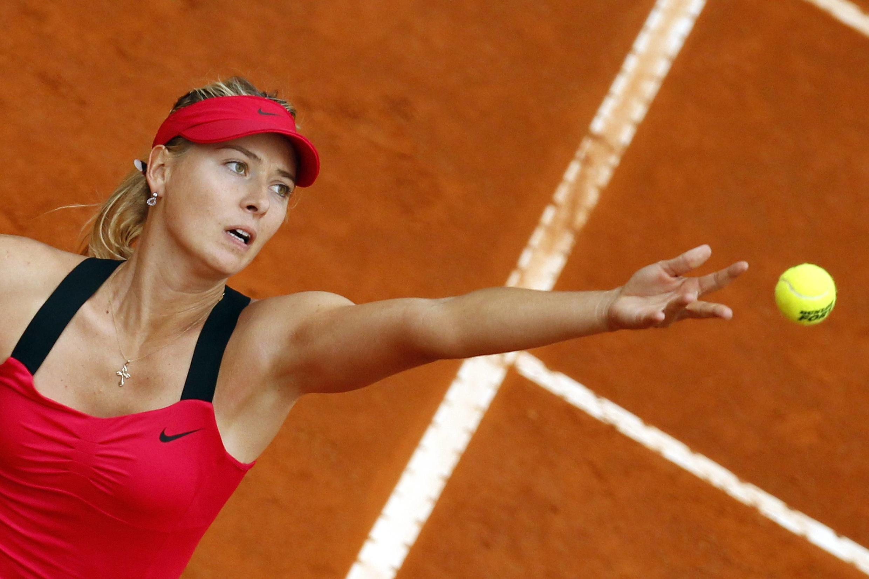 Мария Шарапова в матче против Ли На, Masters, Рим 20 мая 2012 года
