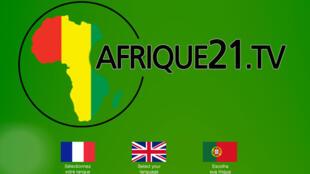 Afrique21.tv émet en français, anglais et en portugais.