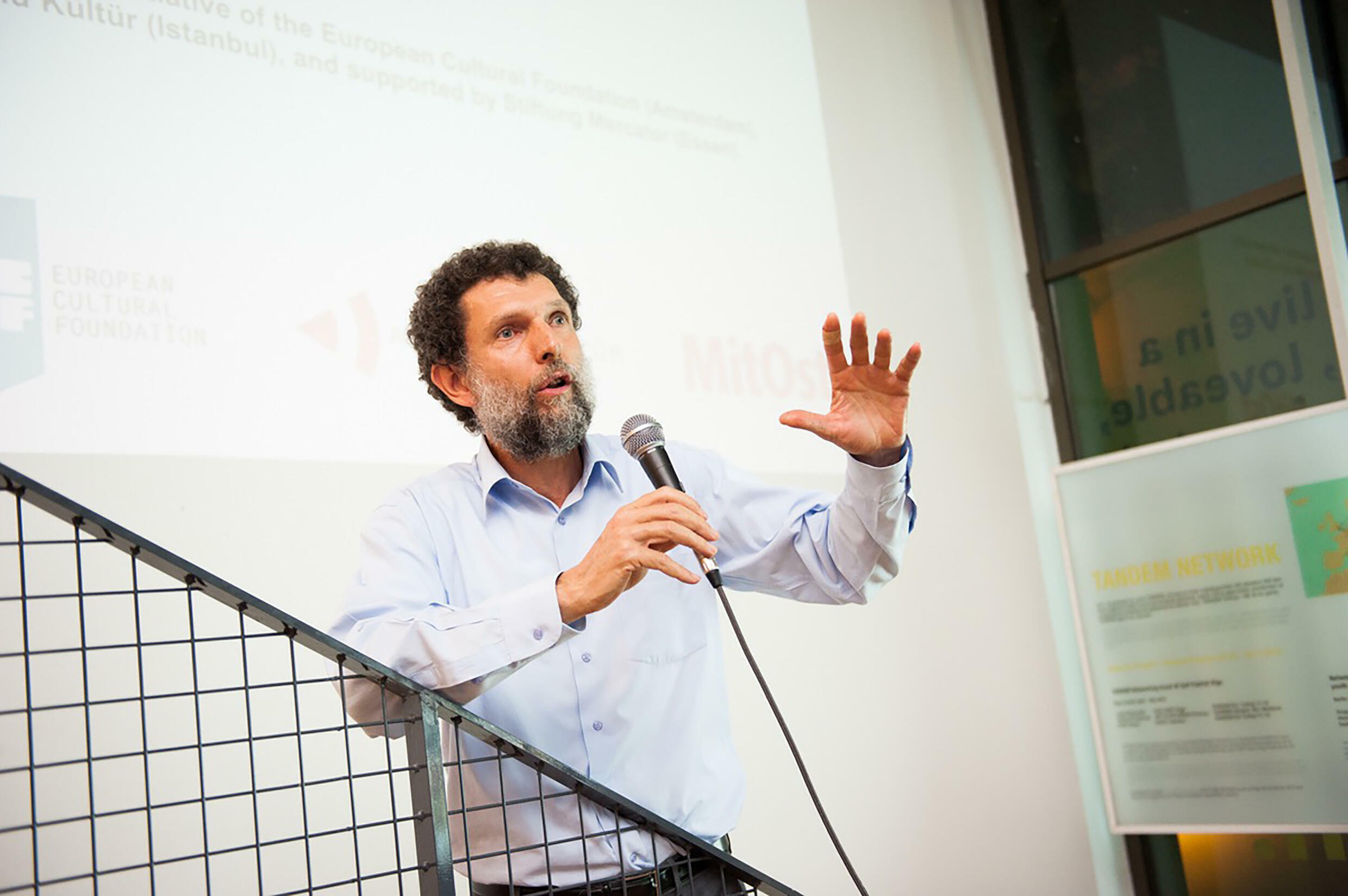 Philanthropist Osman Kavala says he does not expect to walk free any time soon