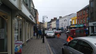 A Dundalk, près de la frontière nord-irlandaise, on tente de redynamiser le commerce.