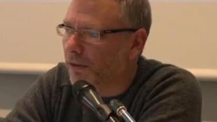 Gilles Holder, anthropologue français (capture d'écran).