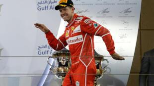 Sebastian Vettel won his second Grand Prix of the season in Bahrain.