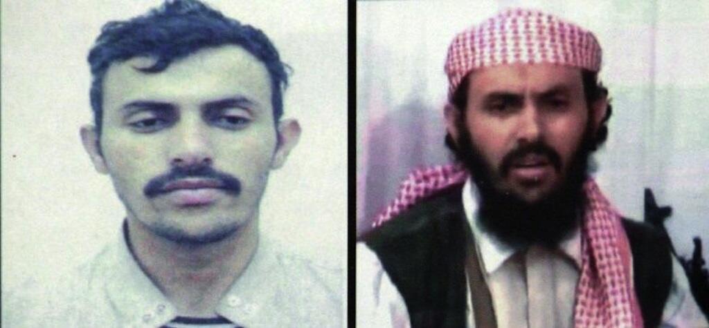 Montage photos non daté diffusé le 7 février 2020 par le ministère yéménite de l'Intérieur du Yéménite Qassem al-Rimi, chef du g