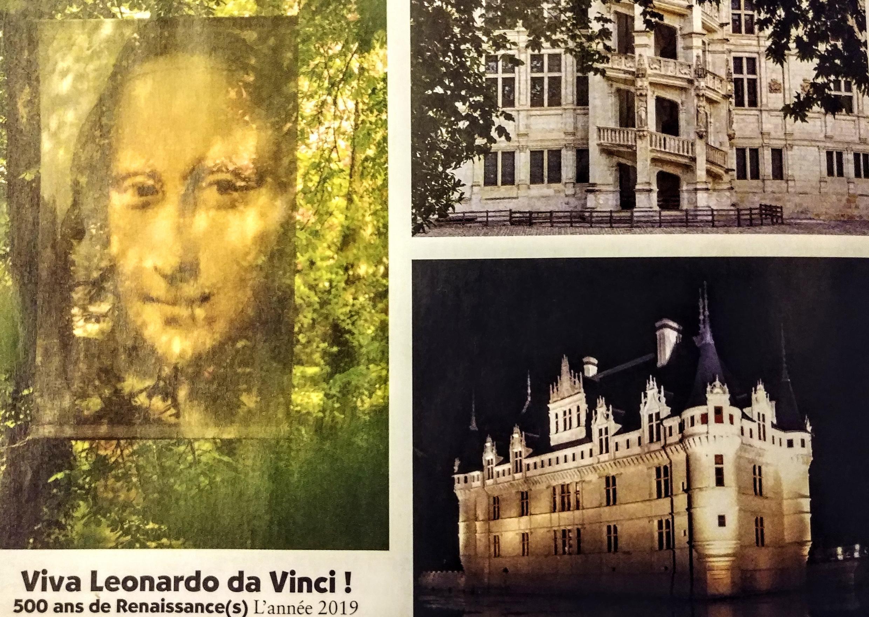 Ảnh chụp bản chương trình kỷ niệm Viva Leonardo da Vinci