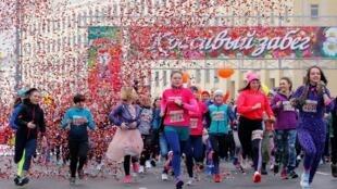 «Красивый забег» - марафон в Минске 8 марта 2020