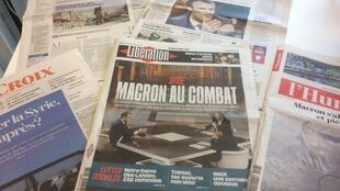 Diários franceses 16.04.2018