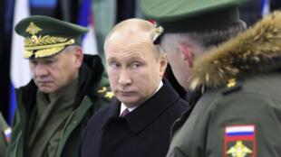 俄羅斯總統普京近照