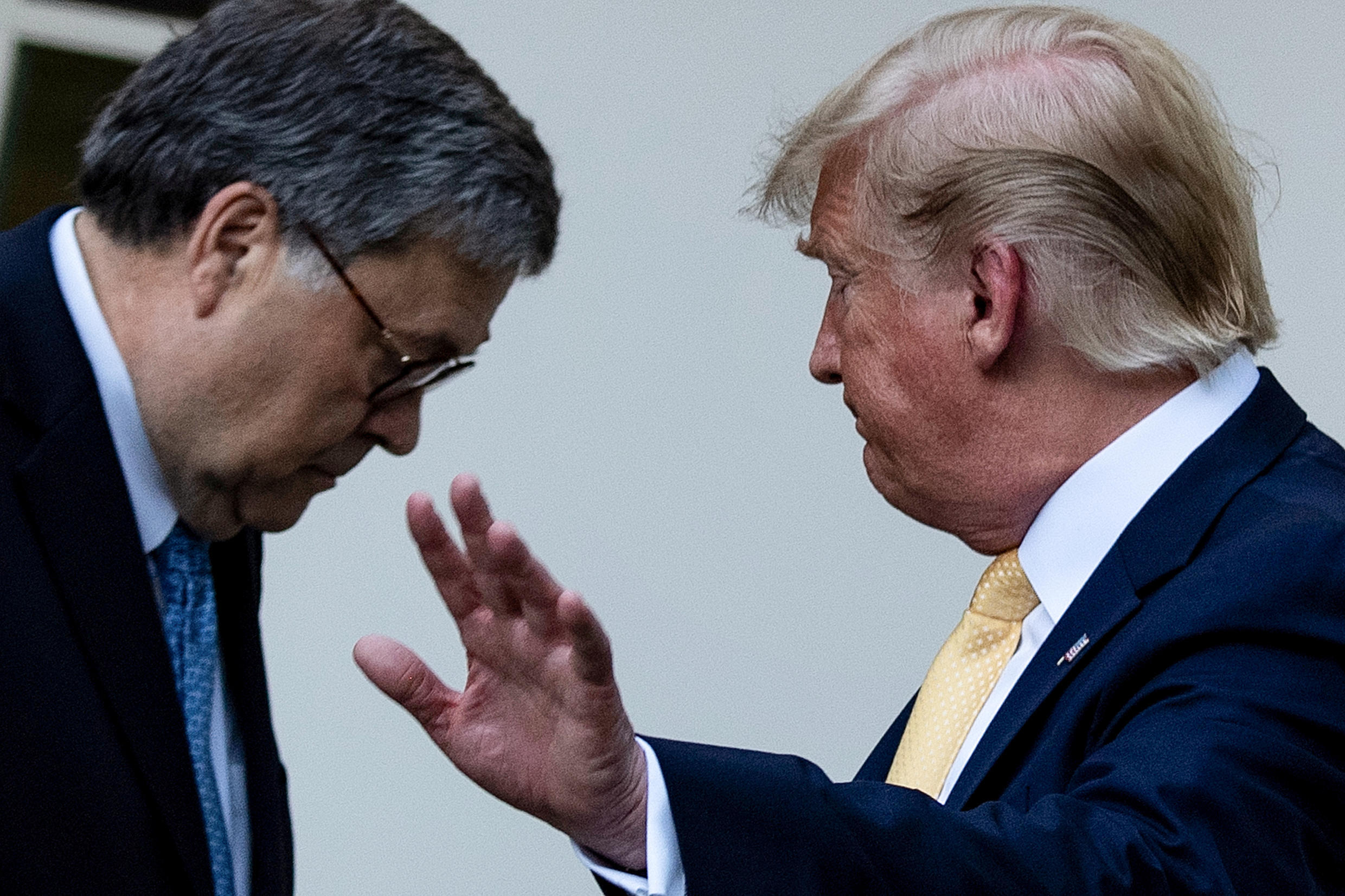 President Donald Trump wanted a fixer, but Attorney General William Barr drew a line