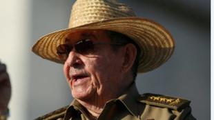 Shugaban kasar Cuba Raul Castro