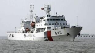 Tàu Hải Tuần 31 của Trung Quốc. Ảnh chụp ngày 15/6/11.