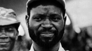 Samora Machel em Junho de 1975.