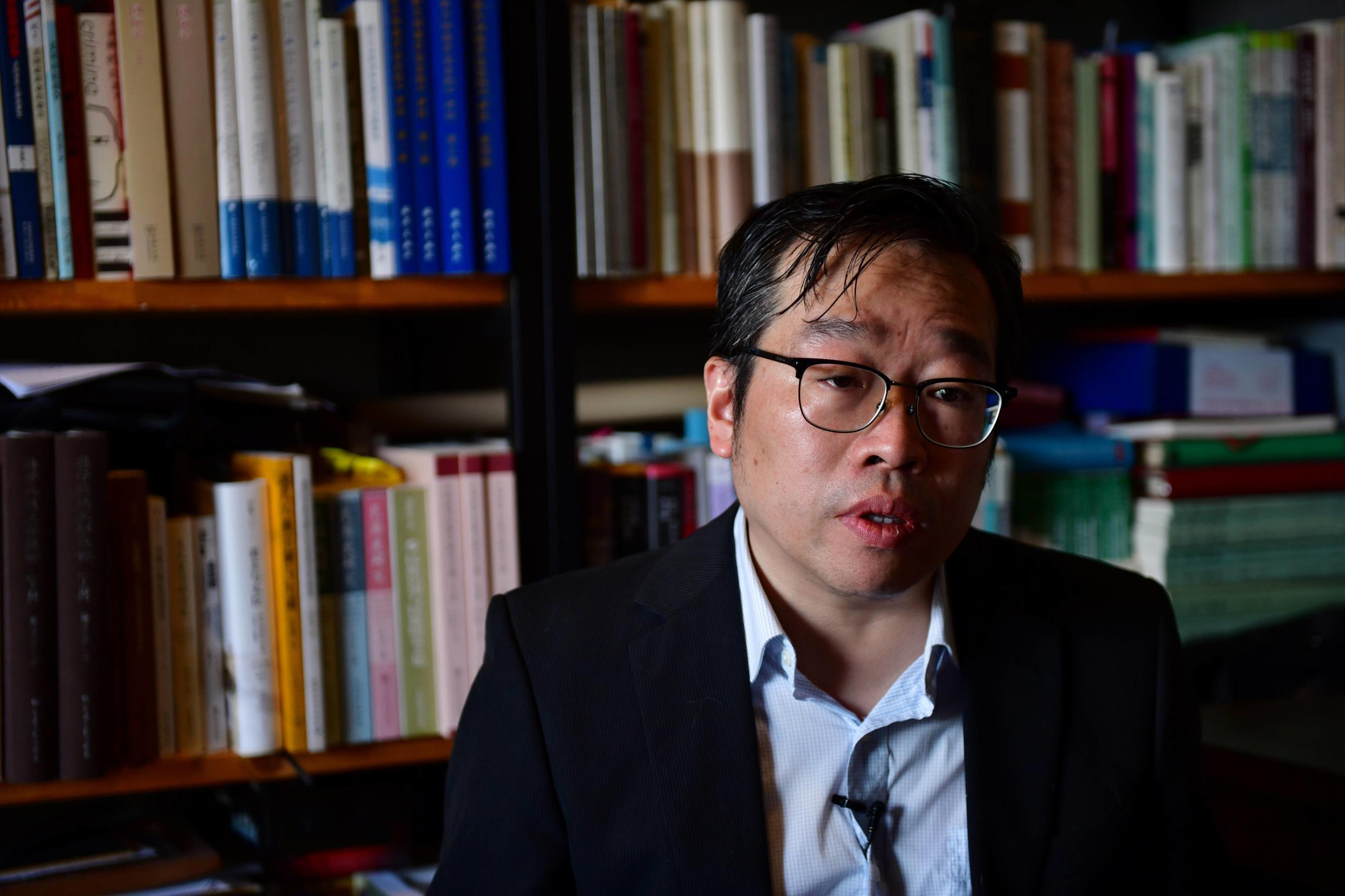 Wu Qiang was fired from the prestigious Tsinghua university shortly after he conducted fieldwork at the Occupy Central protests in Hong Kong