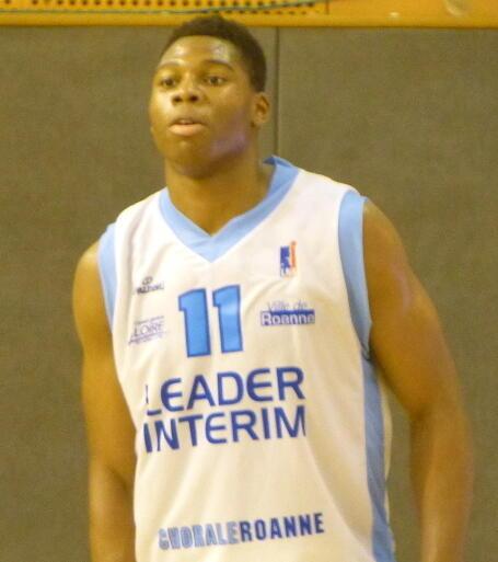 Cầu thủ bóng rổ Pháp Guerschon Yabusele.