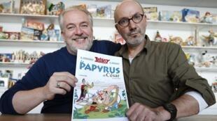 """O novo álbum de Asterix, """"O Papiro de César"""""""
