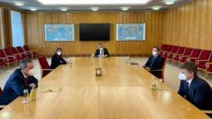 德國外交部國務秘書貝格爾會見智庫墨卡托中國研究中心代表