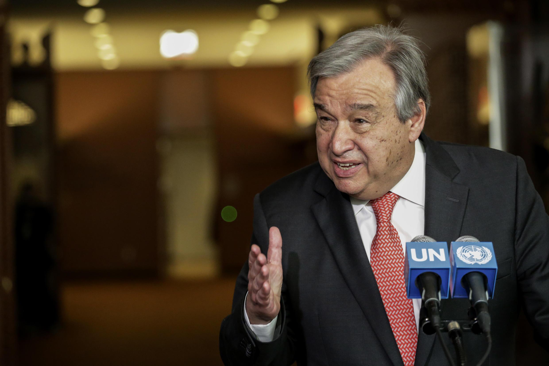 Antonio Guterres, Premier ministre du Portugal de 1995 à 2002.