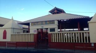 Mercado de peixe em São Vicente