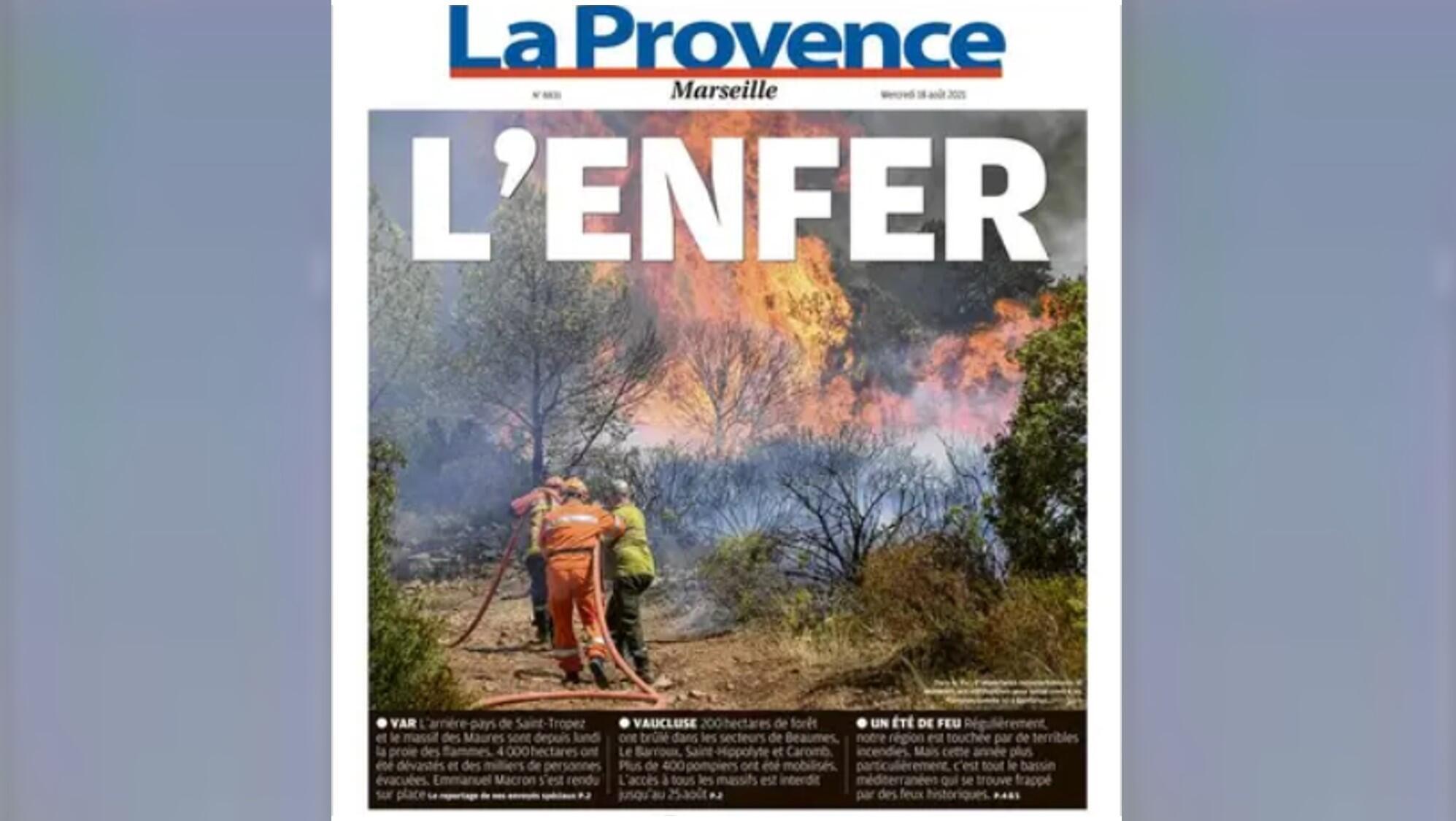 Couv La Provence