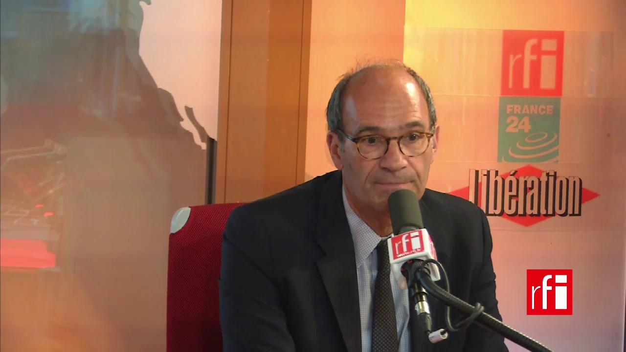 Eric Woerth, délégué général de l'UMP à l'Economie et aux Finances.