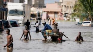 Katika eneo la Keur Massar, karibu na mji wa Dakar, Septemba 8, 2020.