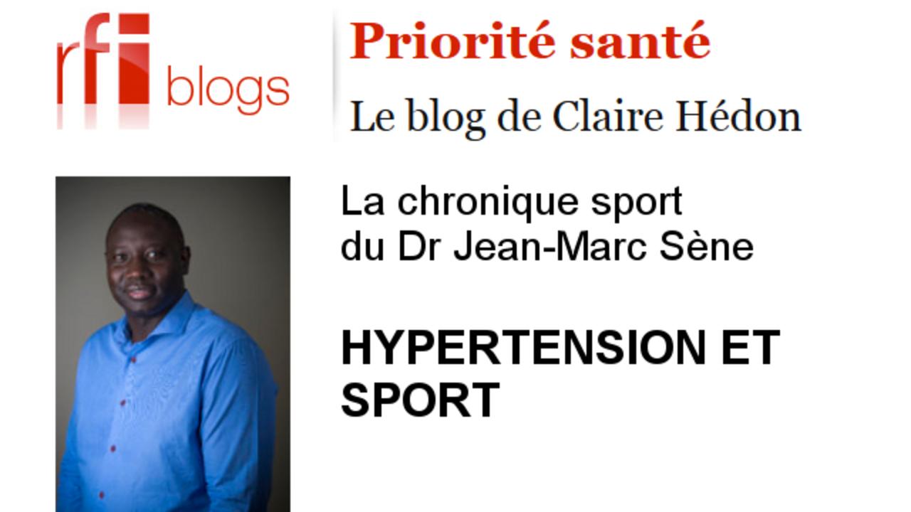 Hypertension et sport - RFI
