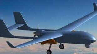 圖為中國製造一款無人機
