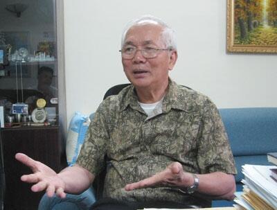 Luật sư Trần Quốc Thuận, nguyên Phó Chủ nhiệm Văn phòng Quốc hội (DR)