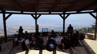 یکی از مواضع ارتش اسرائیل، مشرف به جنوب لبنان