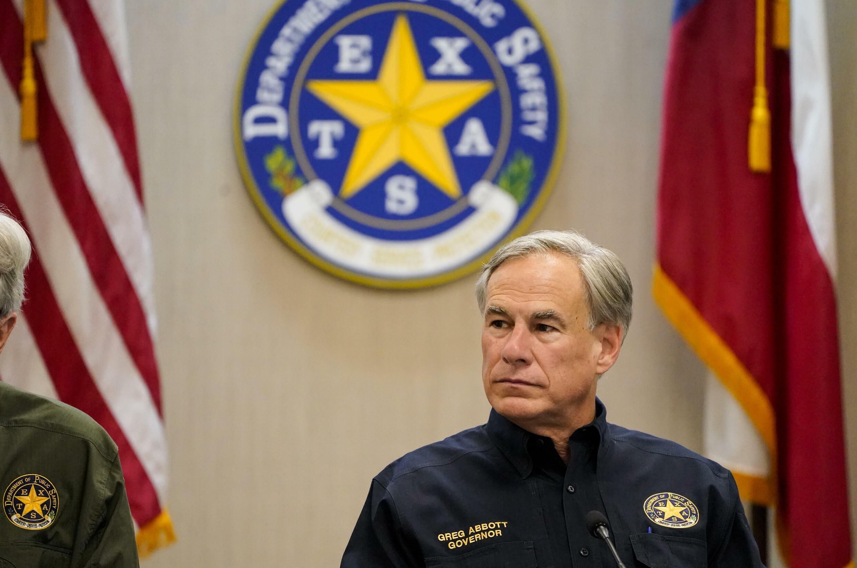 El gobernador republicano de Texas, Greg Abbott.