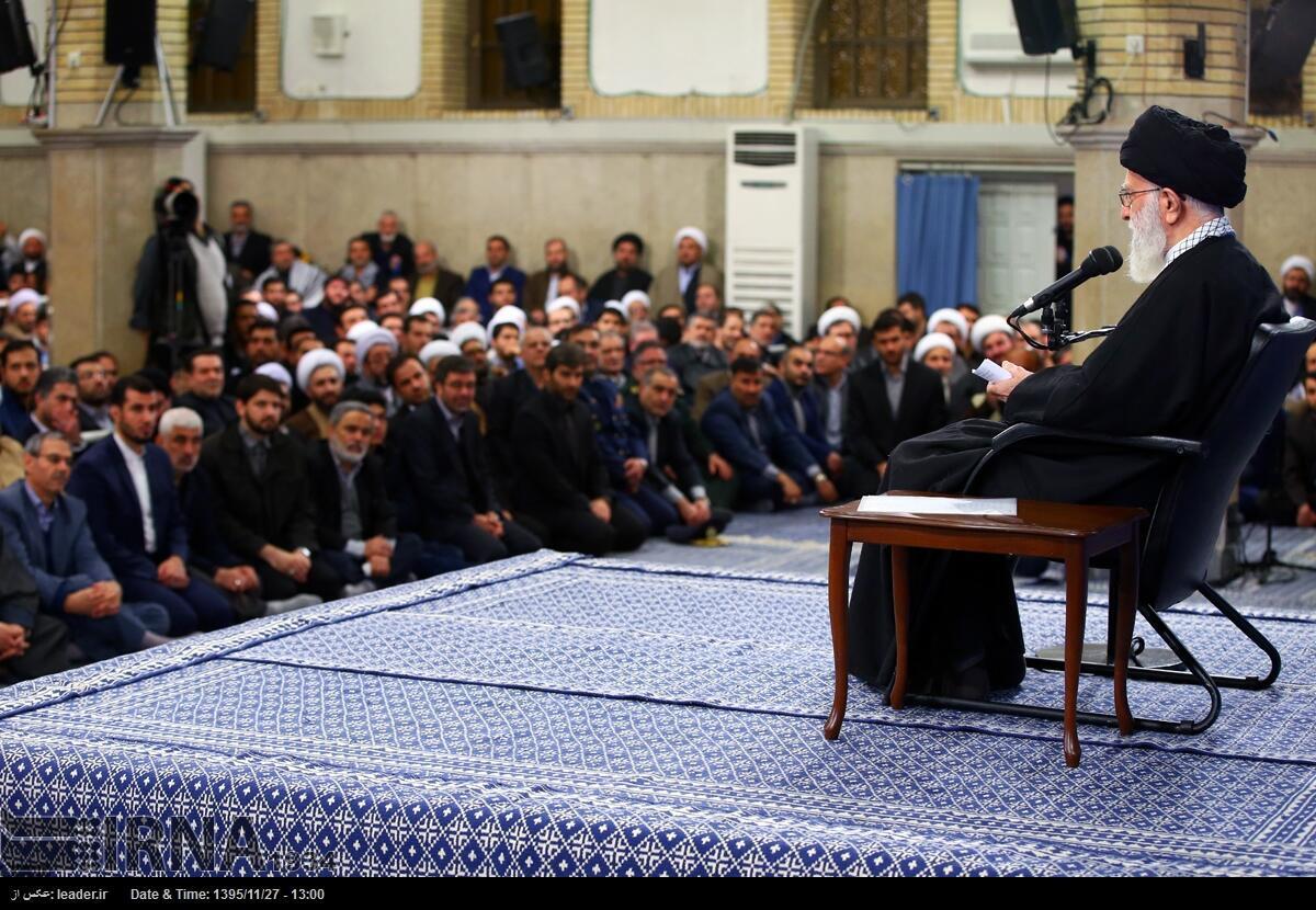علی خامنهای، رهبر جمهوری اسلامی- تصویر آرشیوی