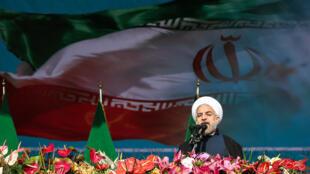 سخنرانی حسن روحانی در سی و پنجمین سالگرد انقلاب اسلامی
