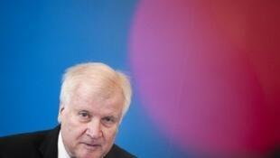 El ministro del Interior de Alemania, Horst Seehofer.