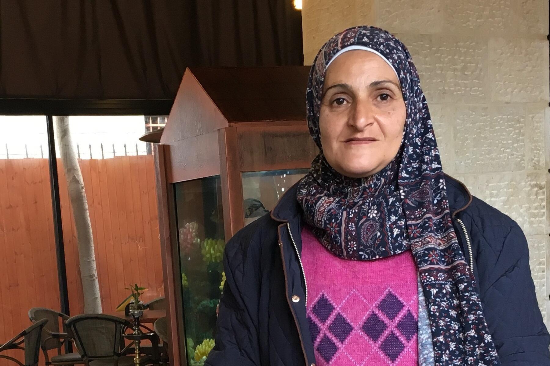 A ativista palestina-brasileira Ruayda Hussein Rabah, nascida no Paraná, e que mora na Cisjordânia há 19 anos.