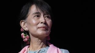 Aung San Suu Kyi at the Royal Festival Hall in central London, 22 June, 2012
