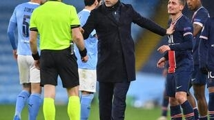 Mauricio Pochettino saw his PSG side eliminated by Manchester City in the Champions League semi-finals