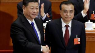 2018年3月18日,中國第13屆全國人大一次會議第六次全體會議上,李克強獲得連任國務院總理。
