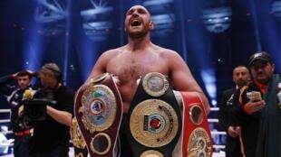 Tyson Fury ne zakaran Damben Boxing bayan ya doke Wladimir Klitschko