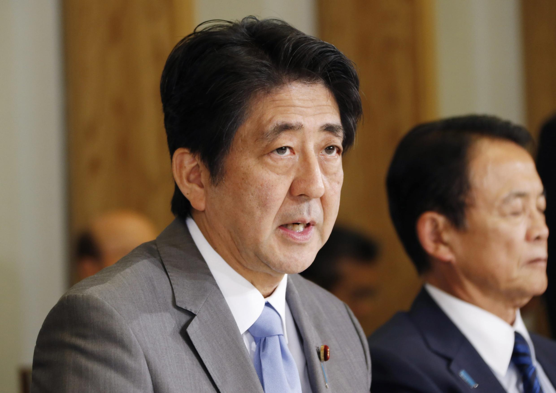 Thủ tướng Nhật Shinzo Abe bị chỉ trích vì đã gửi thư tri ân các binh sĩ tử trận thời Đệ nhị Thế chiến - REUTERS /Koji Sasahara
