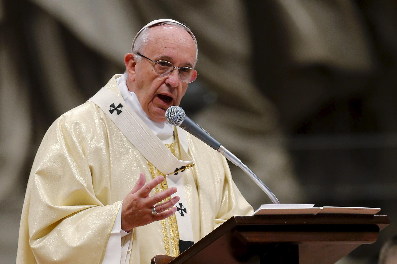 Papa Francisco. Imagem de Arquivo.