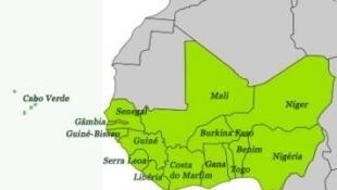 Países da Comunidade Económica dos Estados da África Ocidental (CEDEAO)