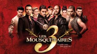 La comédie musicale «Les 3 Mousquetaires» à voir actuellement au Palais des Sports de Paris.
